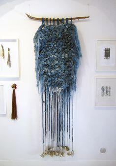 Woad Thread Weaving, by Liz Rob, 2013