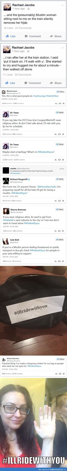 Acts of Kindness  #ILLRIDEWITHYOU