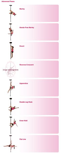 Pole Dance Training - Advanced poses part 1