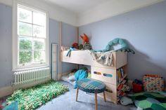 The boys' bedroom.