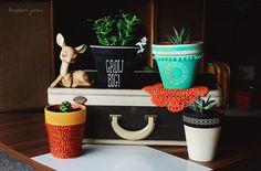 DIY plant pots :}