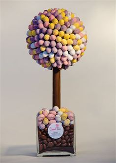 We are loving these sweet trees.  This mini egg one would be perfect to have around for an Easter wedding!