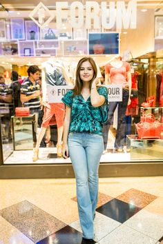 Forum Fashion Tour! Com Luiza Morato e sua escolha de look Forum da Primavera/ Verão 2016. Foto by Bárbara Dutra
