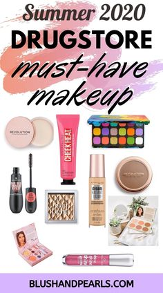 Summer 2020 Must Have Drugstore Makeup. Check out the latest drugstore makeup product launches from Wet n Wild, Physician's Formula, ColourPop, Makeup Revolution, Essence Cosmetics, Maybelline,  Bh Cosmetics and Elf Cosmetics! | affordable makeup products | best summer makeup from the drugstore | #makeupproducts #musthavemakeup