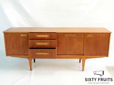 785 Jentique Long dressoir Credenza, Cabinet, Retro, Storage, Inspiration, Furniture, Home Decor, Vintage Sideboard, Clothes Stand
