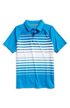 Boy's Under Armour 'Driver' UPF 30+ Polo