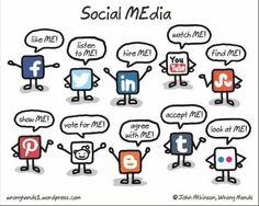 CARTOON: Zo simpel zijn sociale netwerken