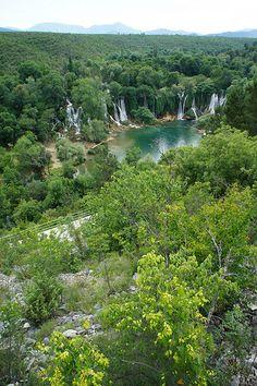 #Kravica waterfall in #Bosnia - #Herzegovina