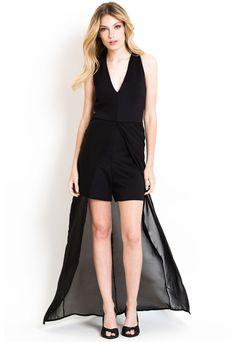 Vestido Swansea Negro Meenash - Comprá Ahora  936b072abc5f