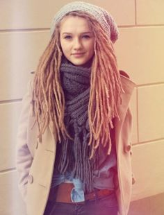 I want dreads so bad! I can't have them at BYU, and I don't think it'd be smart to get them while I'm looking for a job. :P