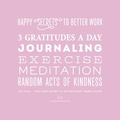 Happy Secrets to Better Work - Shawn Achor via valmariepaper.com  LOVE THE TEXx talk with #shawnanchor