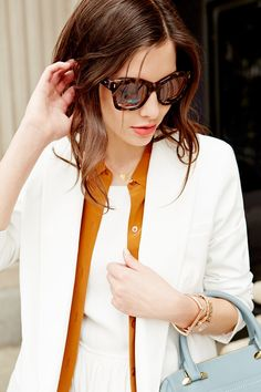 Summer layers for the office // #Sunglasses