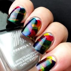 Preen Me nail artist Misty C. weaves together all colors from her set of Formula X #InfiniteOmbre lacquers to create this braided inspired mani. Her kit was gifted to her for being part of the PreenMe VIP Program.