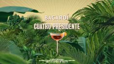 Longboard Discover Keep your night on point with a BACARDÍ Cuatro Presidente. 2 parts BACARDÍ Añejo Cuatro parts Martini & Rossi Rosso Vermouth parts Dry Curaçao 2 dashes Angostura Bitters Orange peel garnish Ads Creative, Creative Video, Bacardi, Instagram Animation, Motion Poster, Food Graphic Design, Vídeos Youtube, Video Advertising, Best Ads