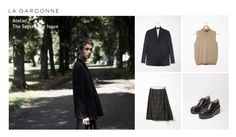 """""""Atelier / La Garçonne: The September Issue"""" by lagarconne ❤ liked on Polyvore featuring Lemaire, Maison Margiela, MM6 Maison Margiela, lagarconne, maisonmargiela, Marsell and lemaire"""