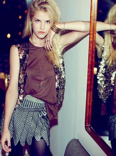 Styling Suggestion for my Free People FP X Show Girls Mini Skirt