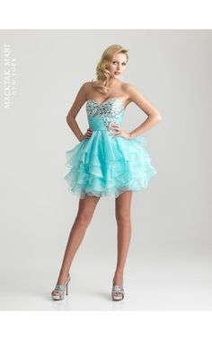 Night Moves by Allure 6711 short prom sweet sixteen dress turquoise color aqua sea blue