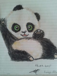 #panda #drawing