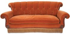 Orange couch from Friends