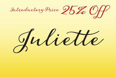 Check out Juliette by Eurotypo on Creative Market