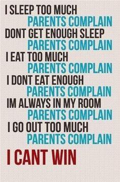 Parents just don't understand #ParentingDontUnderstand