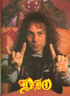 Ronnie James Dio Poster..from - 16.3KB