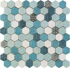 Мозаика Elisabeth Turquesa, размер 28,5x30