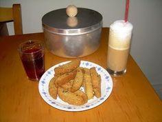 Παξιμαδάκια λαδιού - cretangastronomy.gr Sausage, French Toast, Pudding, Cookies, Eat, Breakfast, Desserts, Recipes, Food