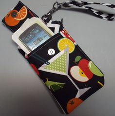 Women's Small Wristlet Wallet or Bag Smart by AlwaysALittleBehind, $16.00
