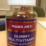 Trader Joe's Gummy Multivamin: A safe choice for the acne prone. #acnesafeproducts