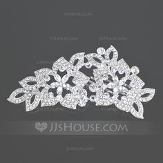 Headpieces - $25.99 - Gorgeous Alloy Hair Combs (042004258) http://jjshouse.com/Gorgeous-Alloy-Hair-Combs-042004258-g4258