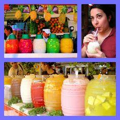 Open Wide the World: Aguas Frescas de México... with a recipe