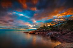 ***Cloudy Sunset (Minnesota, Lake Superior) by Like_He on 500px