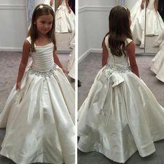 F03 Flower Girl Dress,Gorgeous Little Flower Gril's dress,Custom