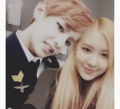 Find images and videos about bts, rose and kim taehyung on We Heart It - the app to get lost in what you love. Korean Fashion Kpop, Kpop Couples, Blackpink And Bts, Mom And Dad, Ulzzang, Taehyung, We Heart It, Cute Pictures, Dads