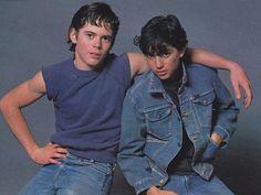 Ponyboy and Johnny Cade