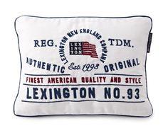 Lexington Kissenhülle TDM Sham 30 x 40 cm weiss mit Inlett