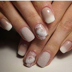 свадебный маникюр — Фото база маникюра, дизайн ногтей