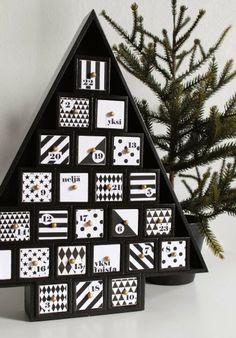nurin kurin: Tuunattu joulukalenteri