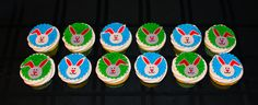 Bunny Cupcakes http://www.facebook.com/I.Love.Cuteology.Cakes