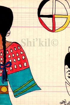 7e7e7fccc73e0da416b420e968f1eb38--kil-native-american Plank House Native American Artwork on