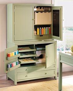 Art And Craft Fold Away Cupboard