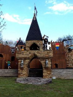 Amazing Castle Park in Carbondale, Illinois ... love it there.