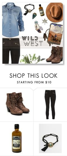 """West"" by rohmanqueen ❤ liked on Polyvore featuring J Brand and ASOS"