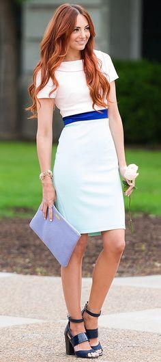 Vesper Pencil Dress