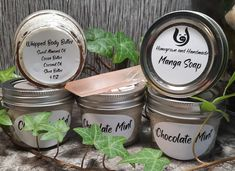 Whipped Body Butter - Chocolate Mint 4oz