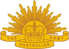 "The Australian Army ""Rising Sun"" badge. Army Tattoos, Sleeve Tattoos, Rising Sun Tattoos, Army Symbol, Soldier Silhouette, Australian Defence Force, Lone Pine, Anzac Day, Iroquois"