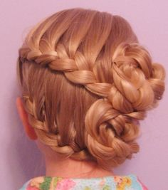 25 Cute Hairstyle Ideas for Little Girls - Fashion Diva Design. Love this for Chloe!!