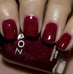"""Zoya Blaze from the new winter 2012 """"ornate"""" collection"""
