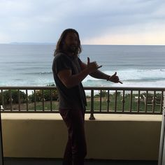 Pin for Later: 27 Times Jason Momoa Almost Burst Out of His Shirt (and We All Crossed Our Fingers) This shade might conceal his face, but NOTHING can cover up those arms.